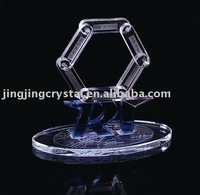 K9 Crystal Blank Block with crystal base