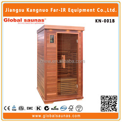 2015 Hot sale far infrared sauna cabin KN-001B