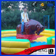 Sound proof inflatable bull ring for sale with CE approved