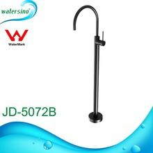 Free standing bathtroom tap watermark black shower mixer JD-5072B