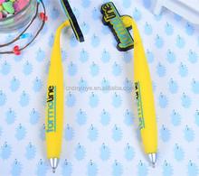 3D animal shape soft pvc ballpoint pen