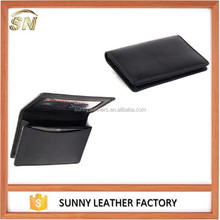 Genuine Leather Thin Business Card Case Minimalist Wallet