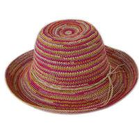 High quality straw fedora hat/ raffia straw hats for men