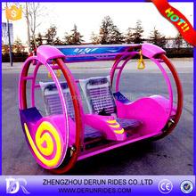 Amusement park games cheap electric car for family