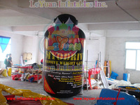 custome Giant inflatable bottle for advertising