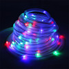 100 LED Green Solar Christmas Rope Light