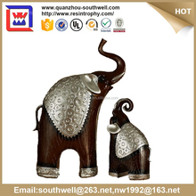 home decorative elephant mother and kid and polyresin and resin elephant statues for sale