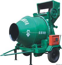 JZC750 hydraulic horizontal concrete mixer with skip bucket for sale