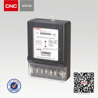 DTS726, DSS226 Three-phase Electronic Energy Meter three phase analog energy meter