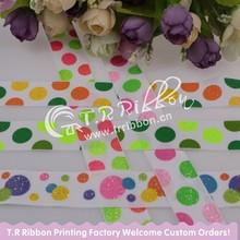 China Fujian Custom Printed Ribbon, polka dot design