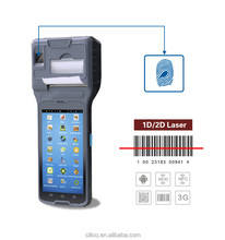 Cilico 5inch display thermal POS printer mobile integrated barcode scanner,rfid reader,quad core,wifi,bluetooth