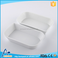 Wholesale high temperature resistant food container plastic cpet tray