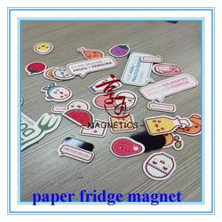 Hot promotional magnetic picture paper fridge magnet/tourist souvenir fridge magnet/souvenir fridge magnet