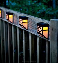 Outdoor Garden Wall Fence Outdoor Solar Gutter Led Light