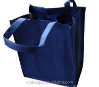 bulk non woven reusable wine tote bag wholesale