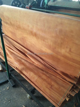Masterpiece AA Grade Natural red gurjan face veneer for decoration plywood furniture Door