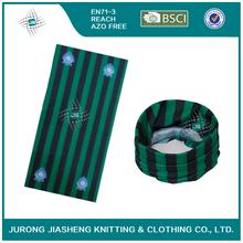 Green Striped Fashionable Multifunctinal Scarf