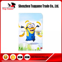 Minions Leather case for samsung galaxy tab 3 lite 7.0 T110 case with stand cover