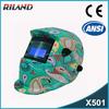 Riland safety helmet welding mask TIG/MIG/ARC Auto-Darkening welding shield glass