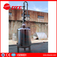 Stainless steel home distiller alcohol still equipment distillery