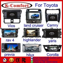K-comfort good quality car dvd radio for toyota hilux for sale