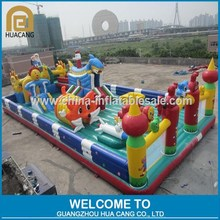 Amusement leisure inflatable pirate ship playground