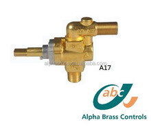 commercial restaurant kitchen pan connect piping high med low rotation function valve