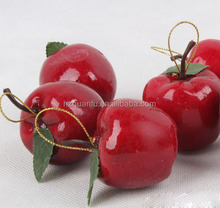 2015 wholesale apple decoration for christmas