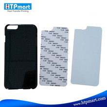 Custom made free sample 2D hard pc material blank phone case cover heat transfer printing for iphone 6s plus