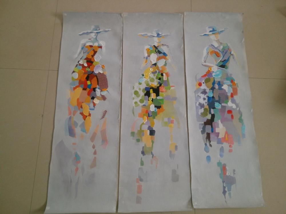 abstracte moderne schilderijen van uil op canvas voor de woonkamer ...