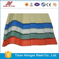 High Quality Prepainted Trapezoid Zinc Coated Roofing Metal Sheets