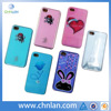 Various designs calling sense LED flash light up phone case for iphone 4