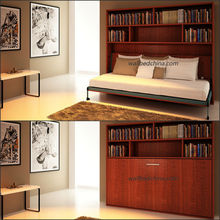 Single hidden wall bed folding bed
