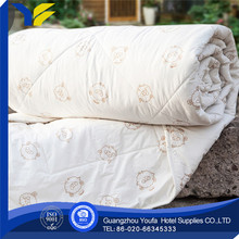 full bed Guangzhou wool 100% cotton white soft comforter
