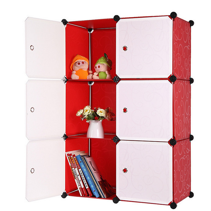 Children 6 resin sheets wardrobe simple grid storage box diy combination storage cabinets  sc 1 st  Alibaba & Children 6 Resin Sheets Wardrobe Simple Grid Storage Box Diy ...