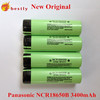3.7v 3400mah rechargeable battery panasonic 18650 batteries