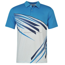 2015 custom new mens dry fit polo with printing logo wholesale