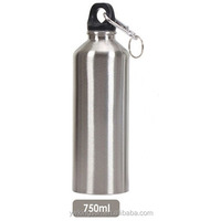 Sport Water Bottle 750ml Narrow Mouth Stainless Steel Cold Water Bottle for Bicycle/stainless steel sport bicycle water bottle