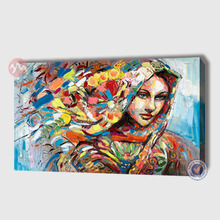 Modern canvas abstract decoration human figure oil painting