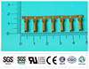 2015 newest hot sale copper/brass bullet terminal,Bullet Insulated Terminal