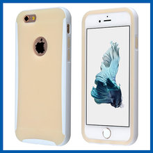 C&T White Soft TPU Bumper Frame Case Cover Side Protective for Iphone 6s 4.7 Inch