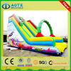 New hot-sale fire fight truck inflatable slide