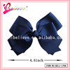 Solid bow ribbon hair bows jewelry, hair accessories wholesale china products