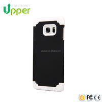 Hard protective camouflage hybrid case belt clip for samsung galaxy s6