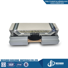 concrete floor finished aluminum horizontal seismic joint for pop up system
