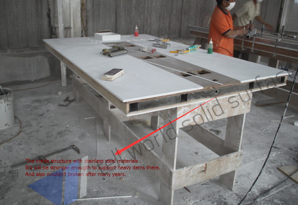 China Conference Table Manufacturers High Quality Acrylic Solid - Corian conference table