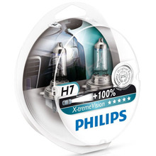 Original Equipment Quality Philips X-treme Vision H7 Halogen Bulbs (Twin Pack) 12972XVS2