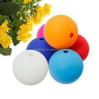 food grade silicone ball shaped ice cube tray for whisky, beer