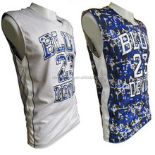 Popular new coming all over printing basketball uniform