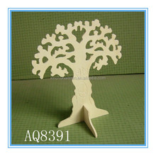 arts and crafts handmade wooden christmas tree decoration